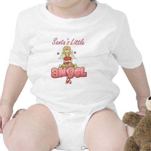 Santa's Little Angel Infant Shirt