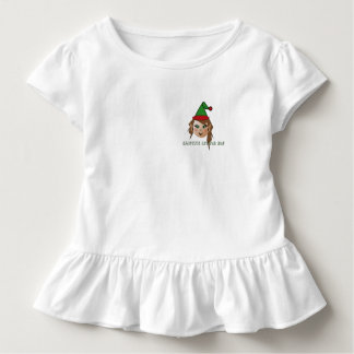 Santa's Little Elf Toddler T-shirt