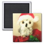 Santa's Little Helper 2 Inch Square Magnet