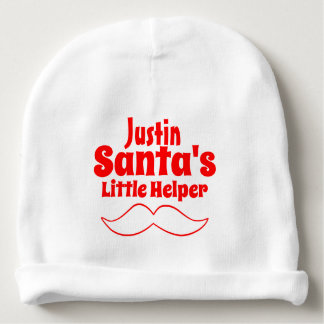 Santa's Little Helper Baby Beanie