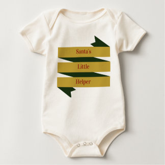 Santas Little Helper - Baby Bodysuit