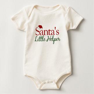 Santa's Little Helper Baby Bodysuit