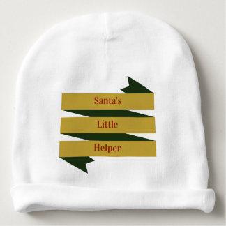 Santa's Little Helper - Baby Cotton Beanie