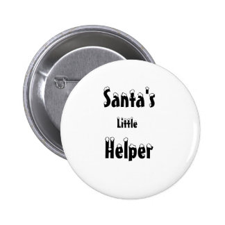 Santa's Little Helper Button / Badge
