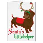 santas little helper card