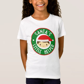 Santa's Little Helper Girl's T-shirt