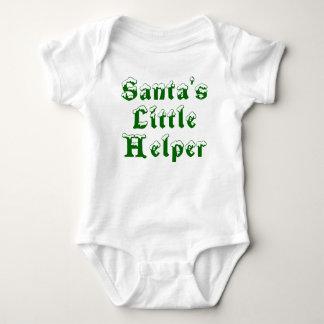 Santa's Little Helper - green Shirt