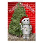 Santa's Little Helper Greeting Card