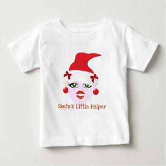 SANTA'S LITTLE HELPER HOLIDAY ELF PRINT SHIRT
