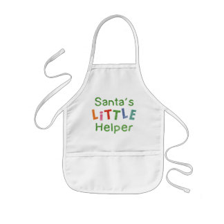 Santa's Little Helper Kids' Apron