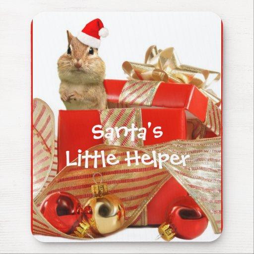Santa's Little Helper Mouse Pad