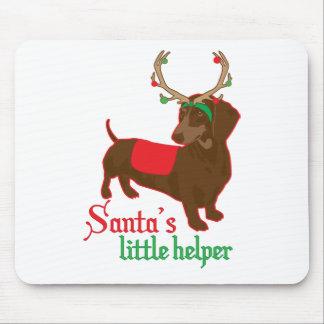 santas little helper mouse pad