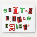 Santa's Little Helper Mouse Pads