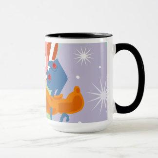 Santa's little helper mug
