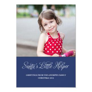 Santa's Little Helper Photo Card