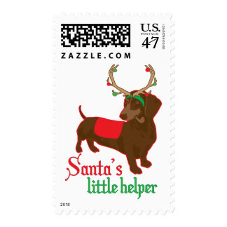 santas little helper postage
