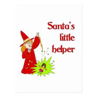 Santa's Little Helper Postcard
