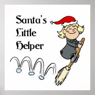 Santa's little Helper Print