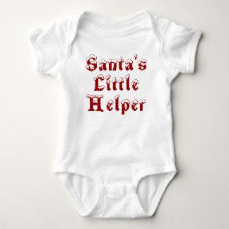 Santa's Little Helper - red Infant Creeper