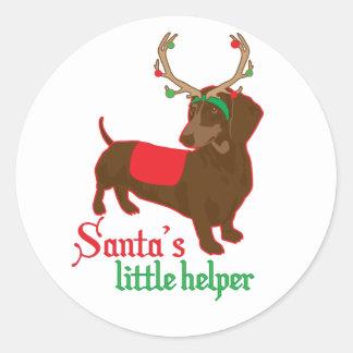 santas little helper sticker
