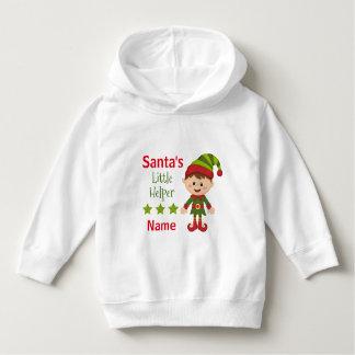Santa's Little Helper Toddler Pullover Hoodie