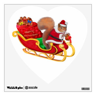 SANTA'S LITTLE HELPER WALL DECAL