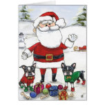 Santa's Little Helpers Greeting Cards