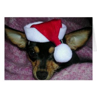Santa's Littlest Elf Card