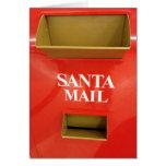 SANTA'S MAILBOX CHRISTMAS LOVE CARD