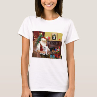 Santa's Maltese T-Shirt