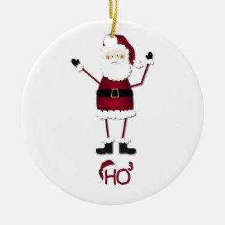 Santa's Math Christmas Ornaments