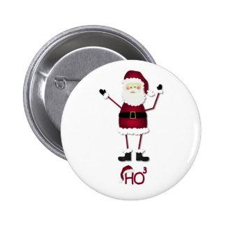 Santa's Math Pinback Button
