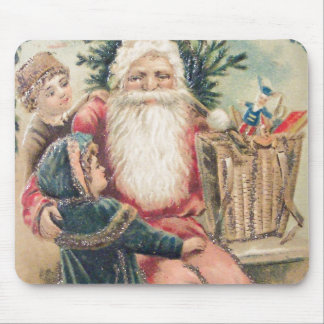Santa's Merry Christmas Mouse Pad