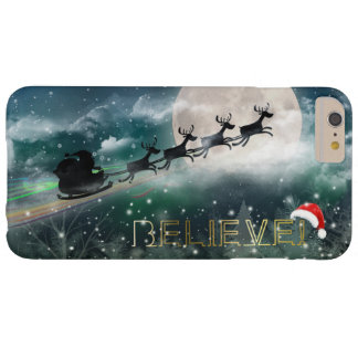 Santa's Midnight Ride Christmas iPhone 6/Plus Case Barely There iPhone 6 Plus Case