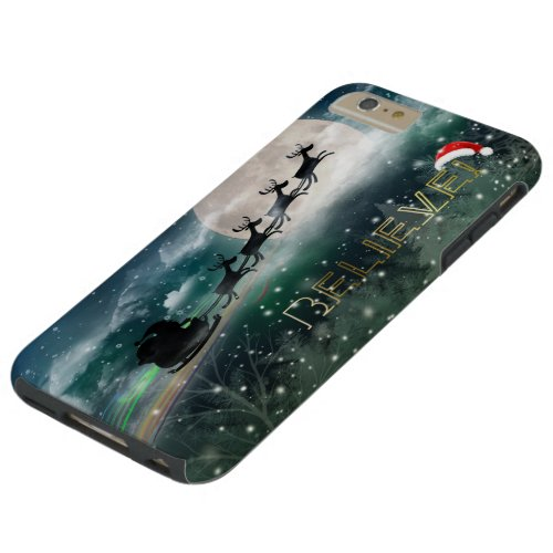 Santas Midnight Ride Christmas iPhone 6Plus Case