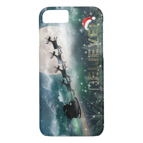 Santas Midnight Ride Christmas iPhone 7Plus Case