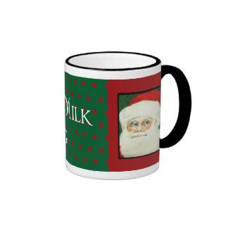 Santa's Milk Mug Christmas Mug