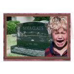 santas muertos tarjeta
