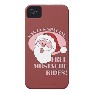 Santa's Mustache Rides Blackberry Bold case