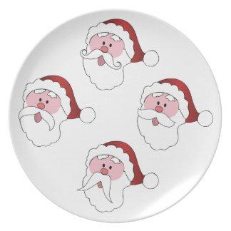 Santa's Mustaches custom color plates