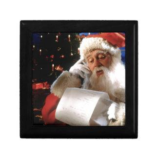 Santas Naughty and Nice List Gift Box