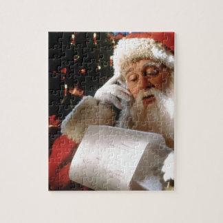 Santas Naughty and Nice List Jigsaw Puzzle