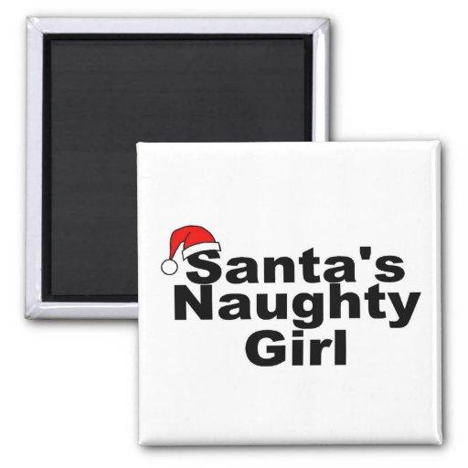 Santas Naughty Girl Magnet