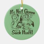 Santa's Naughty List Christmas Ornament