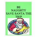 santa's naughty list flyer