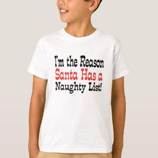 Santa's Naughty List! T-Shirt