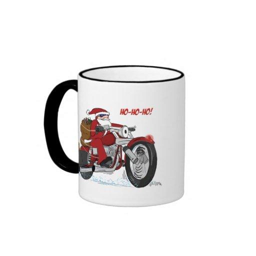 Santa's New Sled Christmas Mug