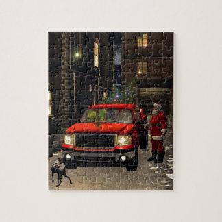 Santa's new sledge jigsaw puzzle