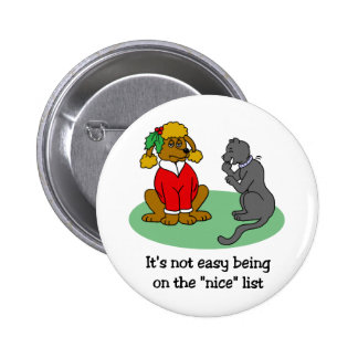 Santa's Nice List button