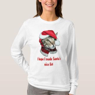 Santas Nice List T-Shirt